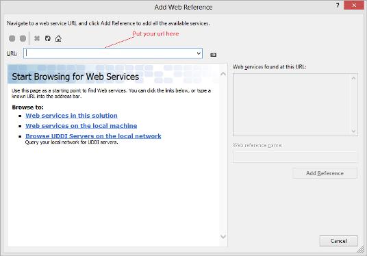 wsdl ans Svcutil : Add Web Service Reference in VS 2010/2012