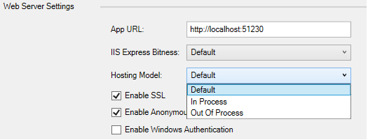 Hosting ASP NET Core Applications on IIS : In-process
